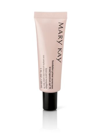 Mary Kay® Foundation Primer Sunscreen Broad Spectrum SPF 15* $16.00 This lightweight gel glides on easily to fill in imperfections and dries quickly to a matte finish to create the perfect canvas for a flawless foundation application that enhances foundation benefits and extends wear. www.marykay.com/pahl