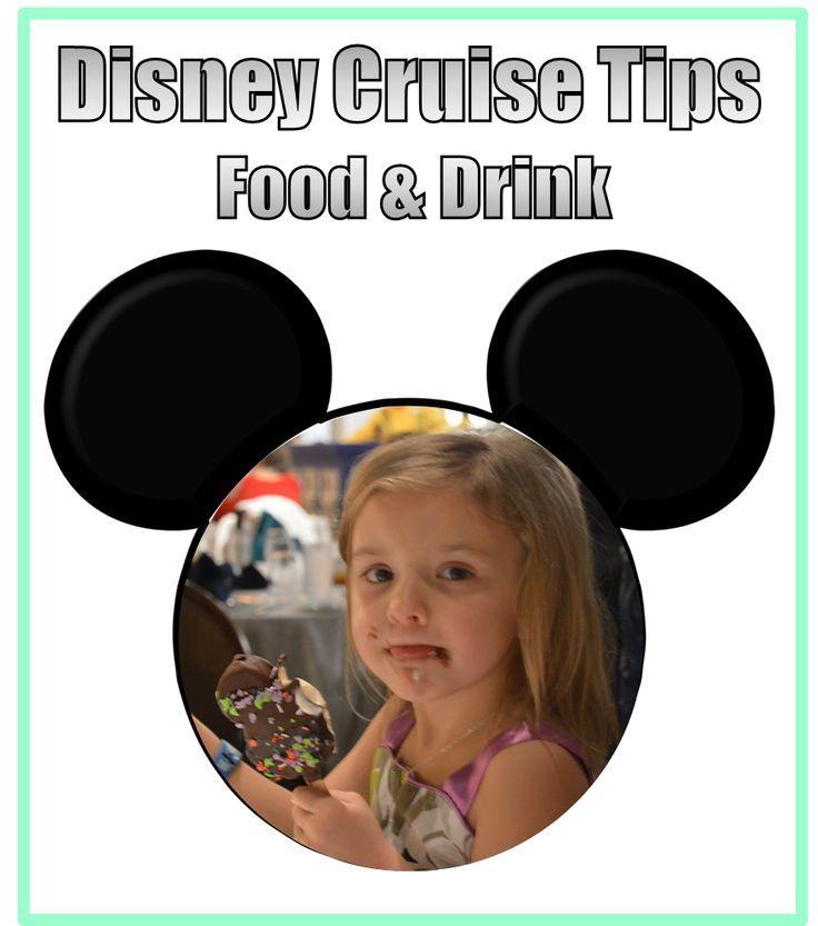 Disney Cruise Tips - Food & Drink disney cruise, crusing with disney #disney #cruise #cruising