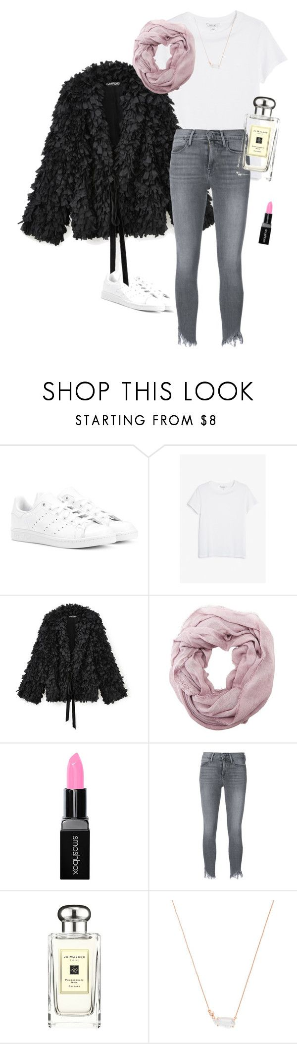 Monday by christinereskovich on Polyvore featuring Monki, Frame, adidas Originals, Kendra Scott, Charlotte Russe, Smashbox and Jo Malone
