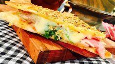 Lomo pizza al chimichurri y queso