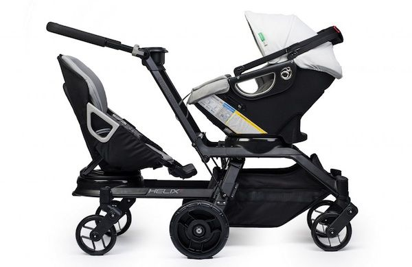 Orbit Baby Double Helix Stroller  $1630... Pricey, but by far best double stroller