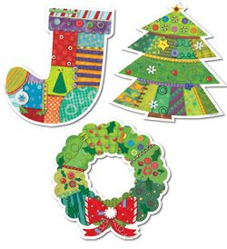 """These 10"""" Jumbo Cut-Outs are perfect in the classroom or at home!"""