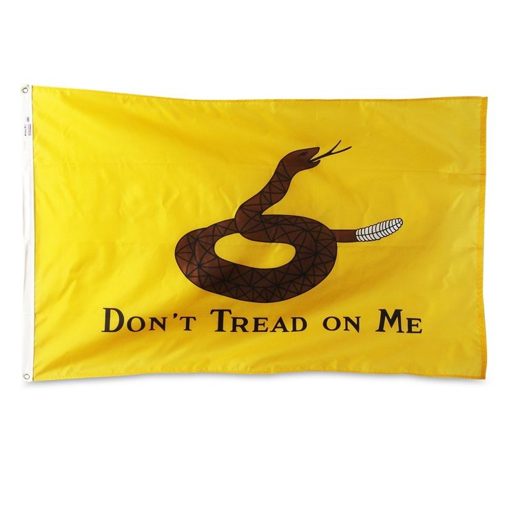Gadsden Flag Made By Valley Forge 3' x 5'