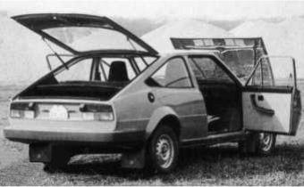 "Skoda 743 ""Locuste"" prototype"