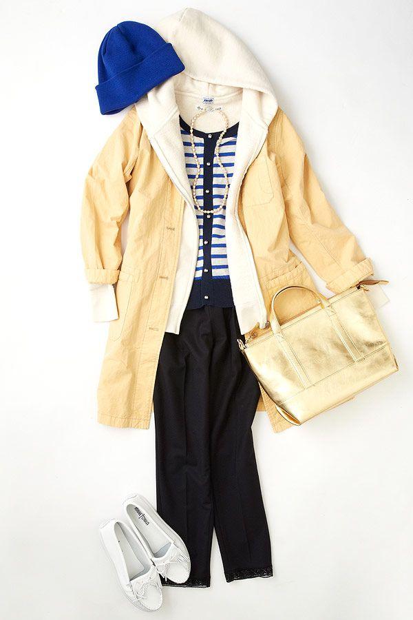 ルミネ新宿 ルミネ2の店頭アイテムでスプリングコートやジャケットを使った着こなしのコーディネート。寒暖差を乗り切るなら、ニットやパーカーのレイヤードスタイル。人気スタイリスト三好彩さんが無限に広がるコーディネートの楽しさをお伝えしつつ、「今日着たくなる服」を提案します!