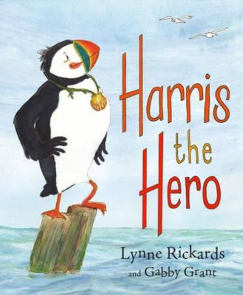 BOOK REVIEW by Web Child!  Harris the Hero by Lynne Rickards