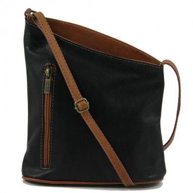 TL Bag - Mini Soft Leather Unisex Cross Bag www.ciaobella.net.nz
