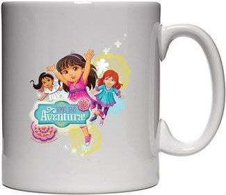 Dora ve Arkadaşları - Macera Zamanı Kendin Tasarla - Beyaz Kupa
