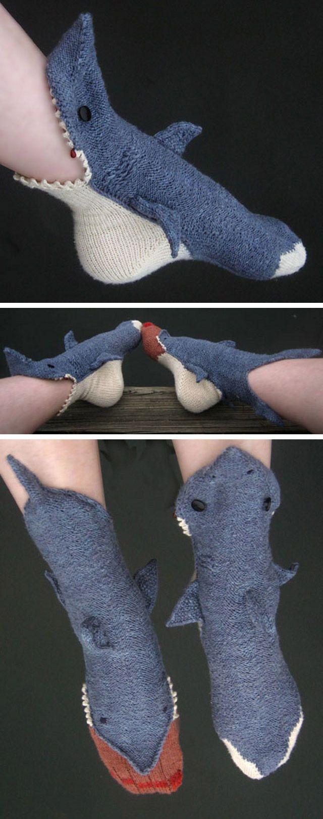 Shark socks!