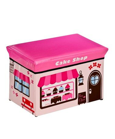 Cake Shop Design Children's Storage Box/Seat by Kid's Bedroom Accessories on #zulilyUK today!