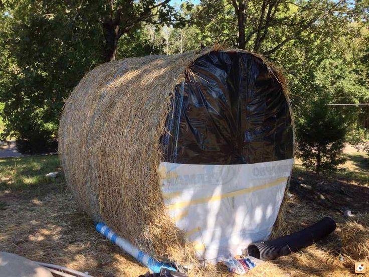 Best 25 Hay Bale Blind Ideas On Pinterest Hunting