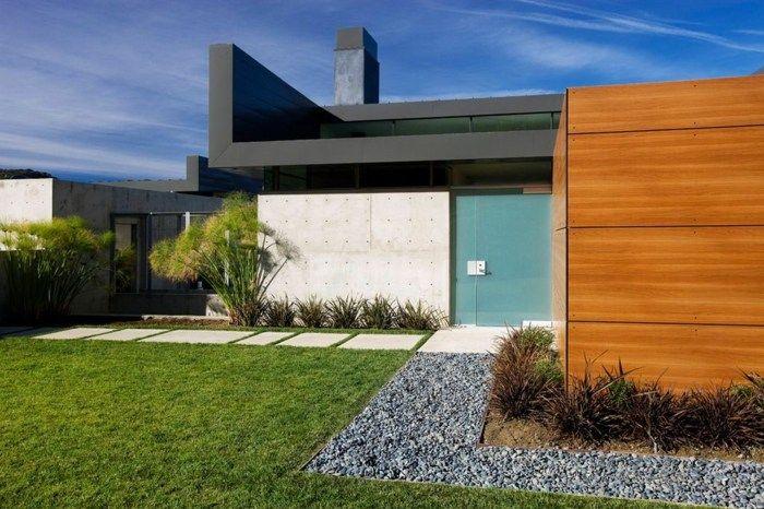 Raumideen und Designs inspirierender moderner Gärten