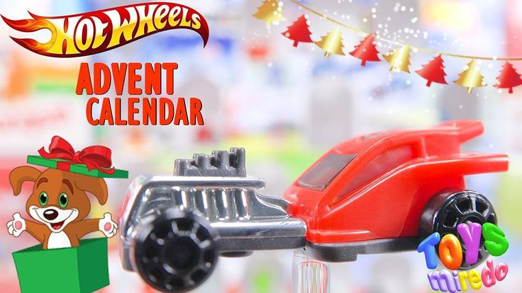 Red Hot Wheels car from Kinder advent calendar @ToysMiredo on #youtube  #surpriseeggs #youtubekids #kindereggs