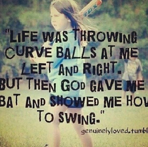 Softball quote!