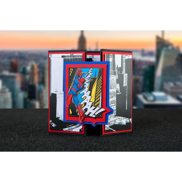 Marvel Spider-Man Cityscape Die Limited Edition No Colour