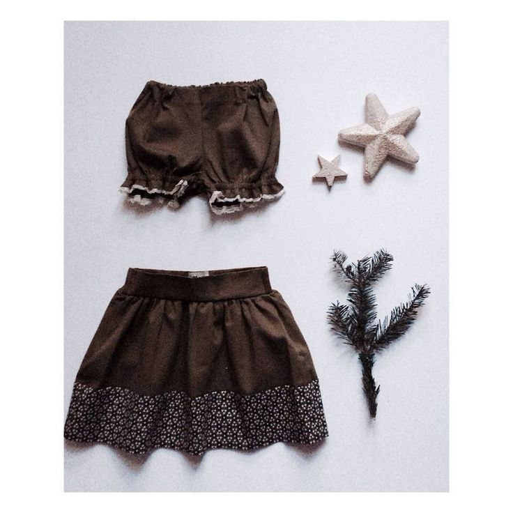 """Mini Forest short or Sisters skirt?"" by Les Petits Vagabonds"
