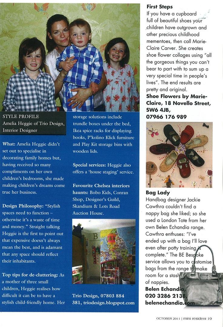 The Resident Magazine features Belen Echandia's London Tote in Anthracite: http://www.belenechandia.com/buy/handbags/london-tote---metallic-leather-bag/