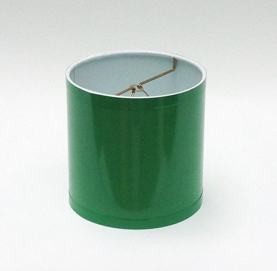 High Gloss Kelly Green Lamp Shades