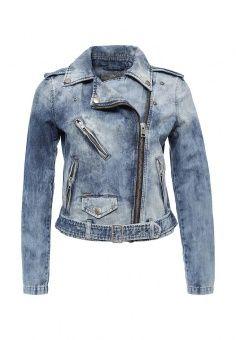 Куртка джинсовая Diesel, цвет: голубой. Артикул: DI303EWLHD98. Женская одежда…