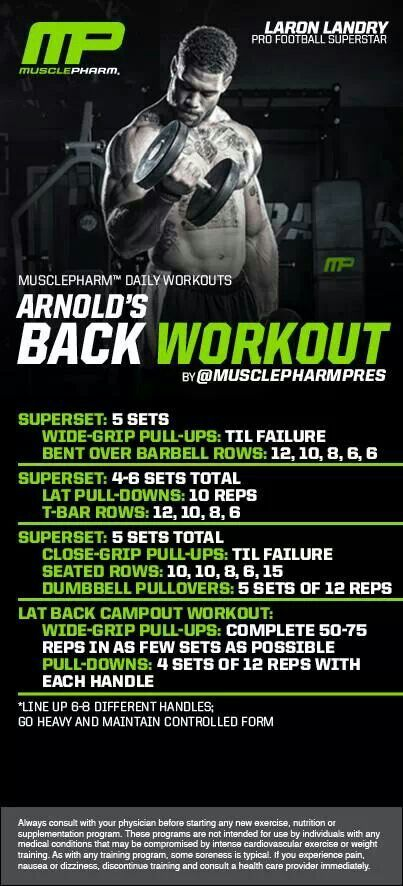 Back Workout | Posted By: CustomWeightLossProgram.com