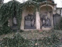 Správa pražských hřbitovů - vyhledávání