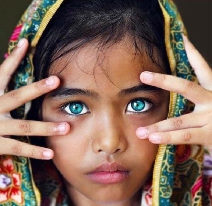 12 Photos Of Children With The World's Most Stunning Eyes