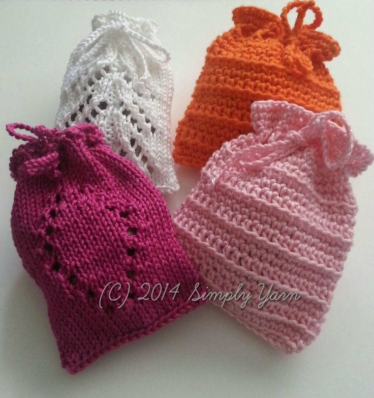 Looking for hostess gift knit ideas? Or party favors for a bridal shower? Check out, free pattern,  Drawers or Wardrobe Fresheners – Stash buster mini project. This quick-to-knit pattern is also great to reduce your leftover yarn stash too!
