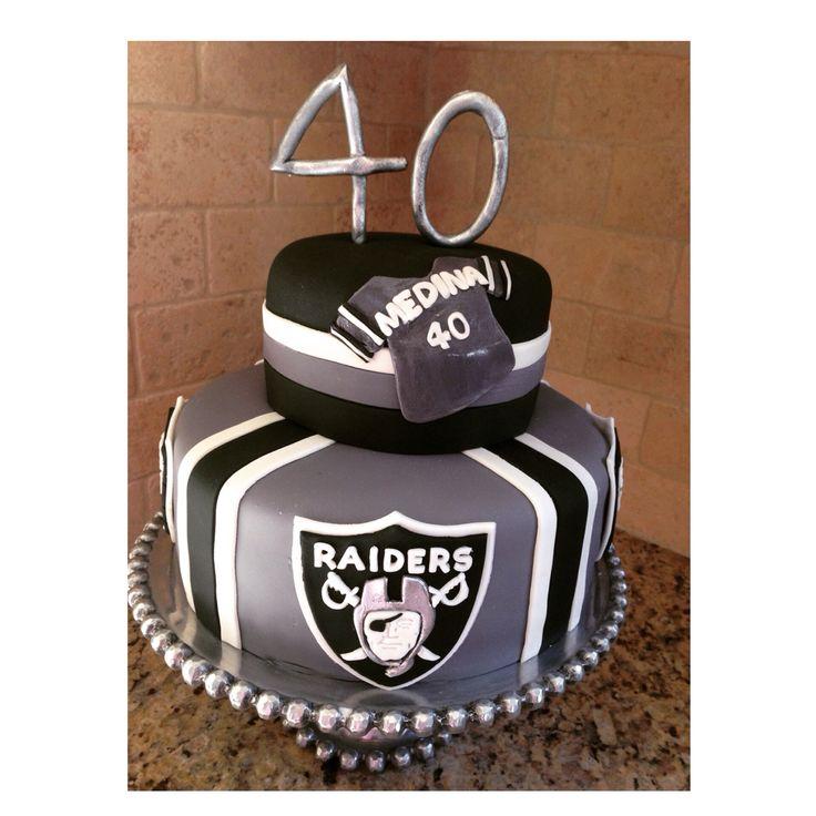 Raiders Cakes