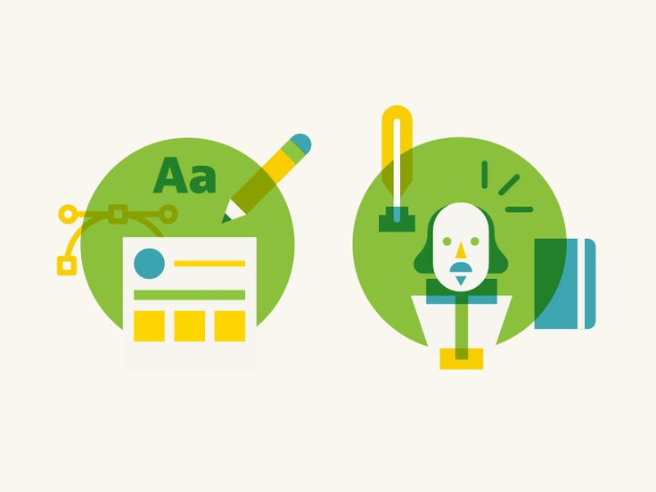 Design and Writing icon for the NerdWallet set.