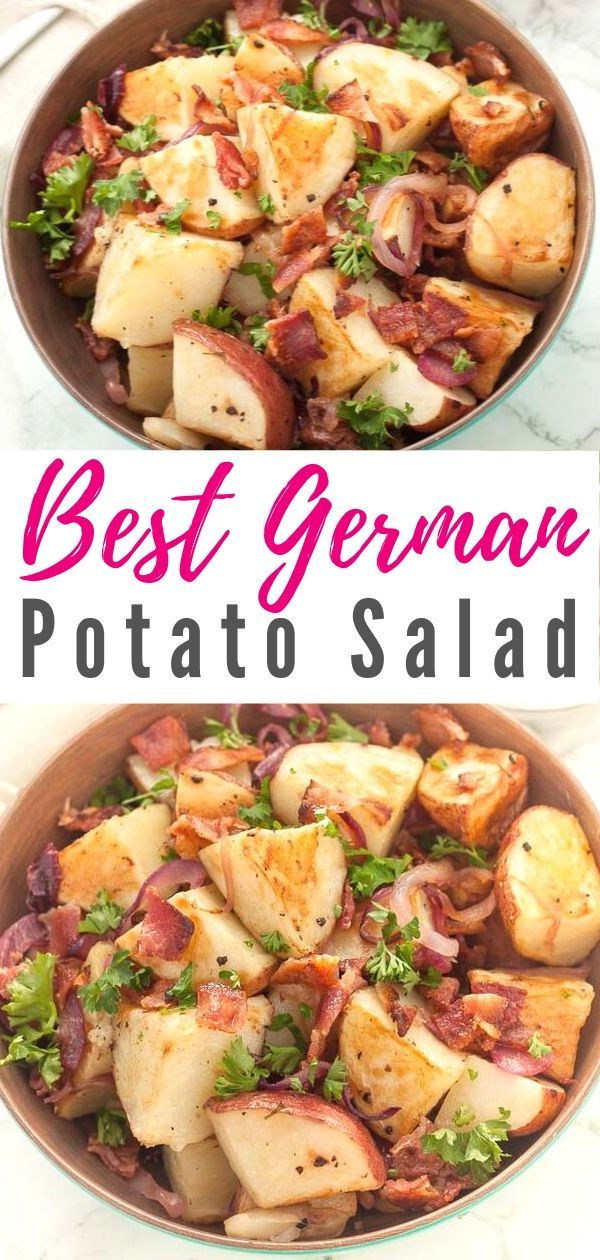 Best Warm German Potato Salad Recipe