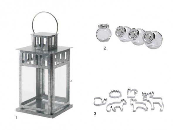 Wedding Ikea -- 1.  The BORRBY lantern in large is $14.99 and adds big impact on a little budget. Add a few of these lanterns around your ceremony for a country look or place one on every other reception table to help cut down on your floral budget.