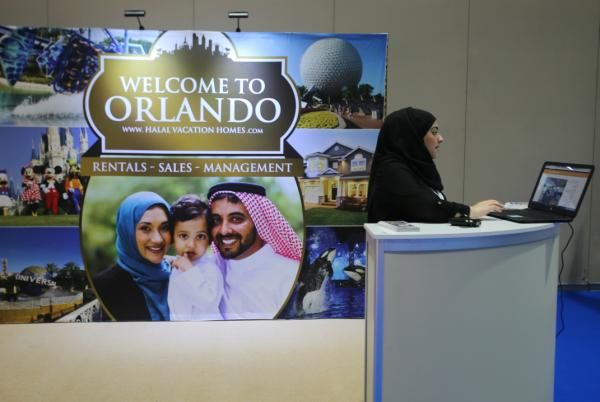 "ABU DHABI, United Arab Emirates (AP) — A rental company in Orlando, Florida, is offering ""halal vacation homes"" with curtained pool decks and rooms with prayer mats and copies of the Quran. A British company's app lists gourmet restaurants serving halal meat in London and Dubai, while a Boston-based developer's app offers travel guides for 90 cities with local prayer times and a compass pointing Muslims toward Mecca for daily prayers."