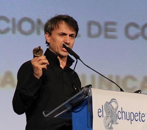 """José Mota ha sido reconocido como el """"Mejor comunicador con el público infantil"""" en esta octava edición de El Chupete."""