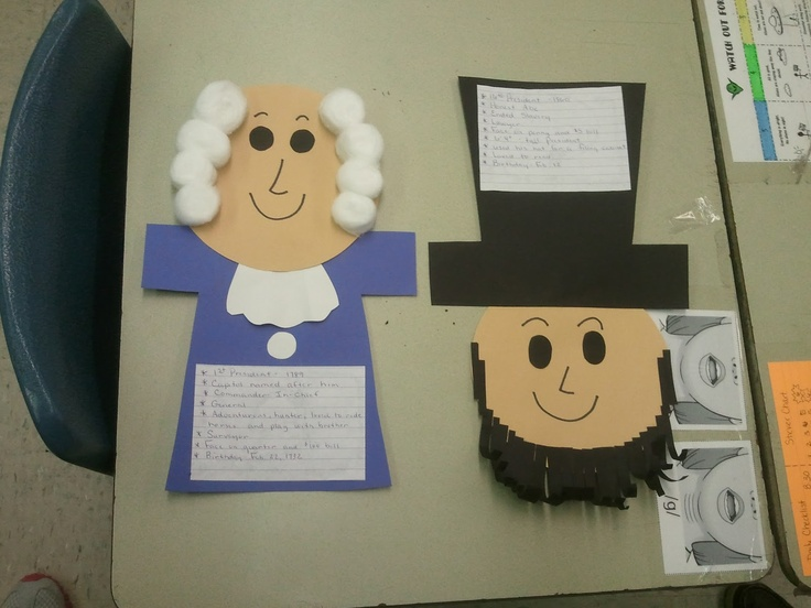 The Wise & Witty Teacher: Pinterest Inspired Presidents and DIY Lesson Plan Book