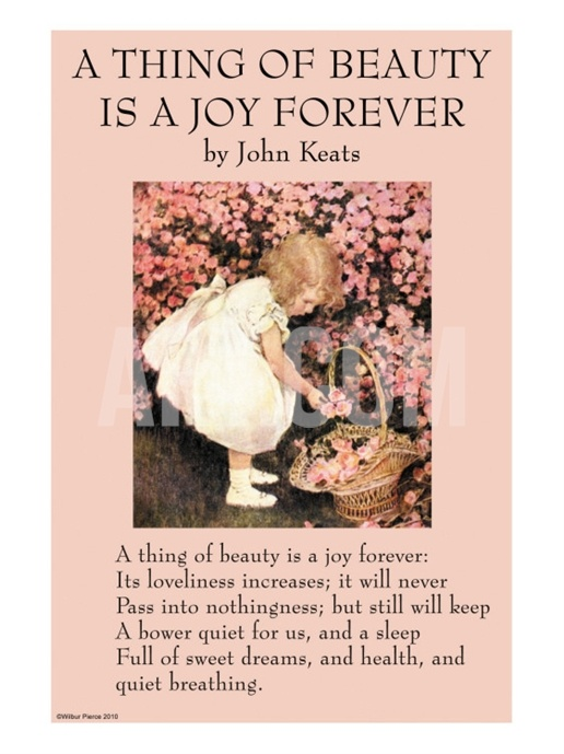 John keats a thing of beauty is a joy forever analysis essay
