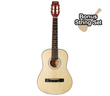 Learn to play guitar or enhance your talent with this Acoustic Guitar comes with 2 Picks, Guitar Bag, Steel Strings and Shoulder Strap. Now Price Drop!