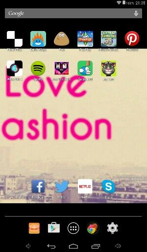 I love my apps