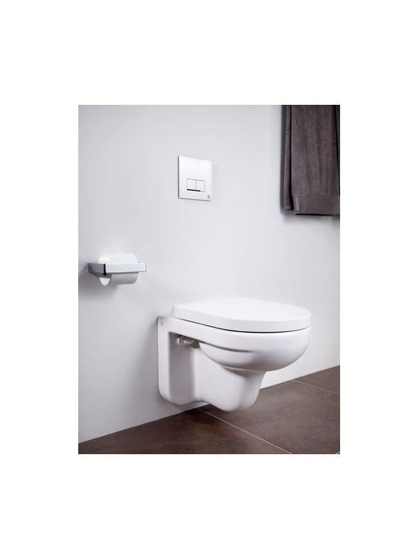 6022916 Gustavsberg 4330 Gustavsberg Artic 4330 Vegghengt toalett Med myktlukkende sete og lokk, hvit