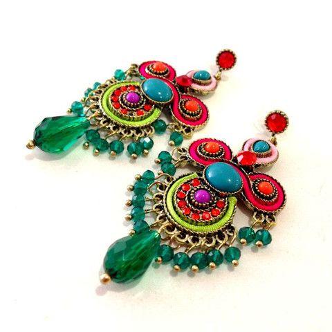 Multi-Colour Gypsy Earrings – Stuff I Want