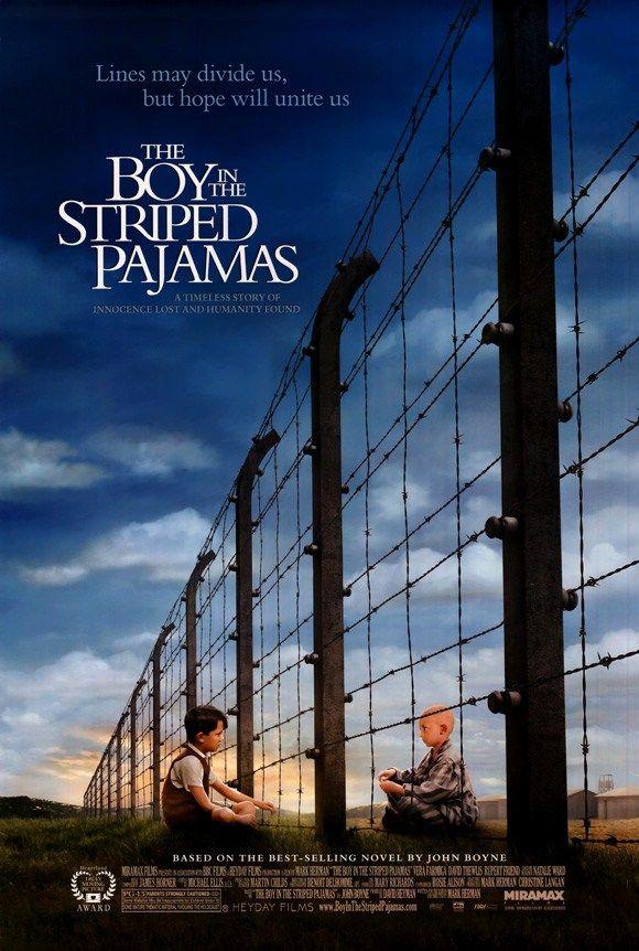 Filme: O MENINO DO PIJAMA LISTRADO, 2008.