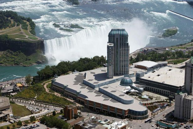 "Best Hotels with a View of Niagara Falls ~ Fallsview Casino Resort ~The self-proclaimed ""Honeymoon Capital of the World,"" Niagara Falls (Ontario side) is a must for most Canadians (and Americans, too)."