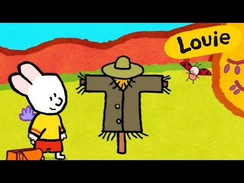 Vogelscheuche - Louie, mal mir eine Vogelscheuche | Lebendige bildungs malen für kinder - YouTube