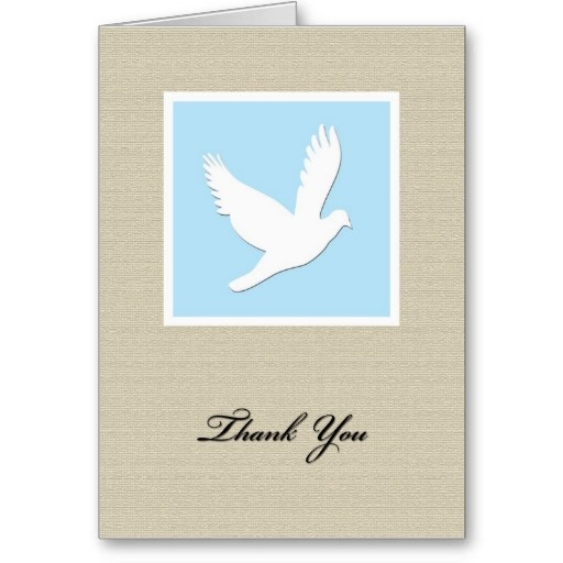 Best Funeral Thank You Notes Images On   Silver Beach