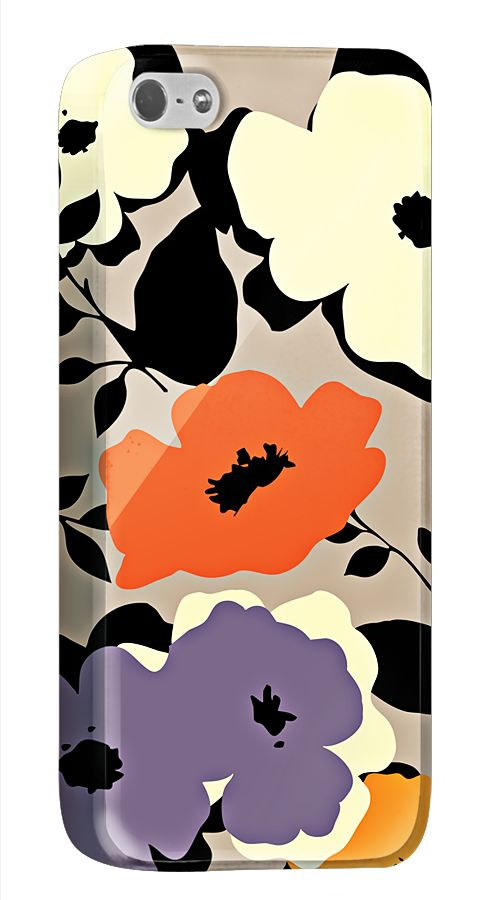 ざっくりとした筆使いが印象的な花がらのiPhone5/5s用ケース。オリジナルのアレンジもカンタンにできます。  http://originalprint.jp/ls/215262/0b61feeb2e51190e12f2c9cf9b5f450666e31fb6