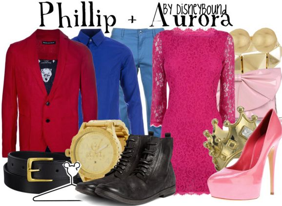 Phillip and Aurora. If the color of her outfit was right I would  this!