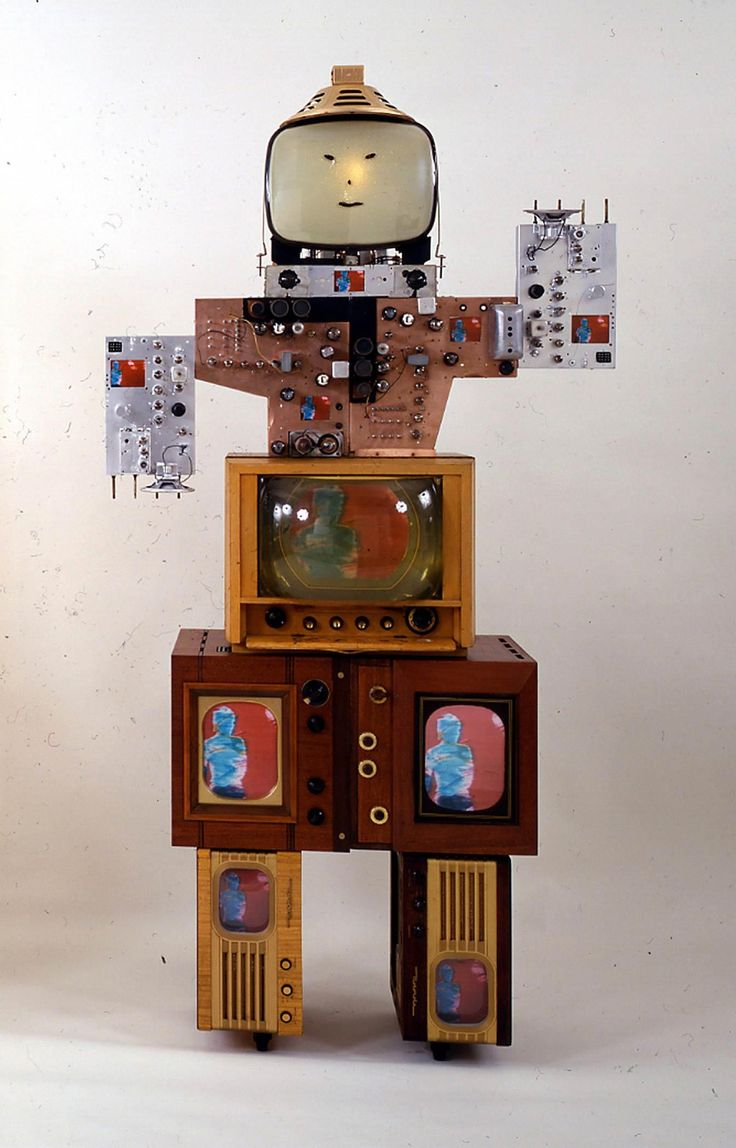 "minusarms: "" Nam June Paik (born in Seoul July 20, 1932 and died in Miami January 29, 2006) first studied electronic music. He worked with the Cologne Radio-German composer and pioneer of electronic music Karlheinz Stockhausen, composer and artist..."