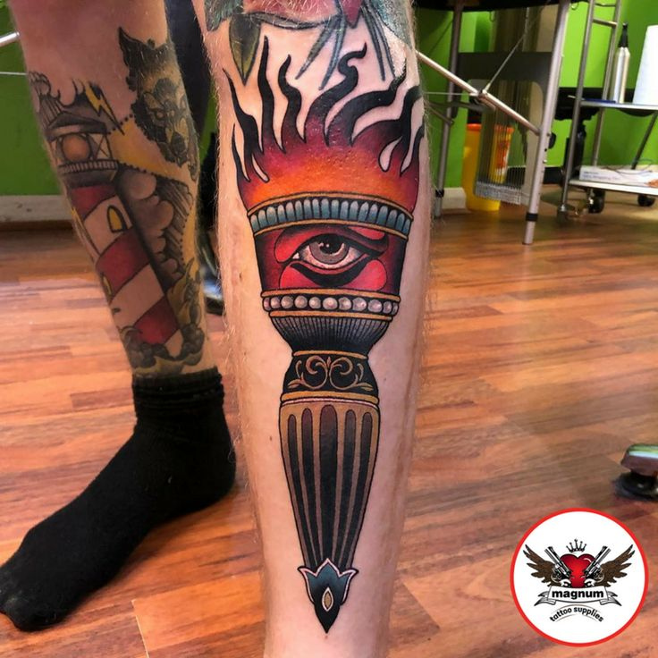 Niall Shannon's fantastic piece with #magnumtattoosupplies