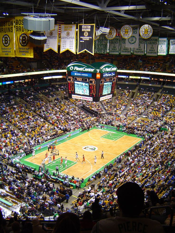 TD Garden (Formally Fleet Center) Boston Bruins & Boston Celtics (Seen), Boston, Massachusetts (2003)
