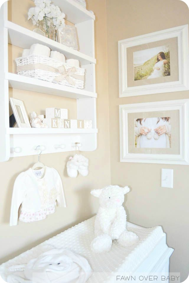 Baby Room Feature Wall To Match Cream