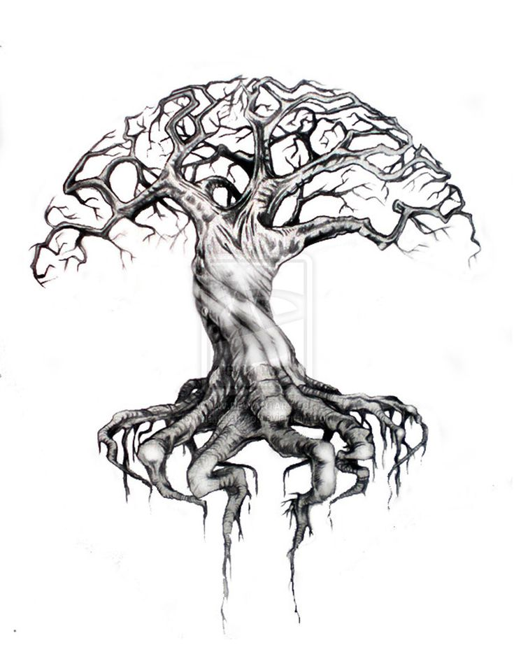 91 best cool stuff i like images on pinterest sugar skull sugar tree of life art tree of life by matt2tattoo publicscrutiny Image collections